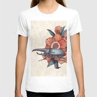 hercules T-shirts featuring Hercules Beetle by Angela Rizza