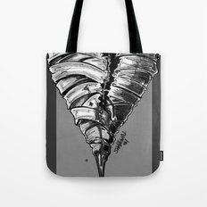 Razor Blade Romance (Black and White Version) Tote Bag