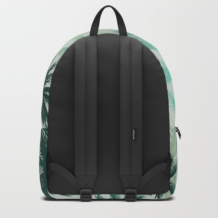 Summer Palm trees Backpack