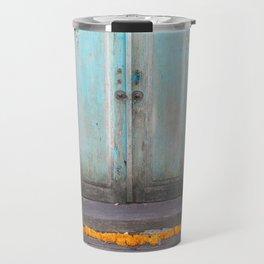 Turquoise Door Travel Mug