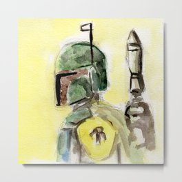 Bounty Hunter Metal Print