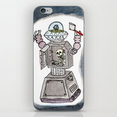 CLANK! CLANK! YOU'RE DEAD! iPhone & iPod Skin