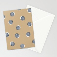 Mixed Dots - in Cocoa Stationery Cards