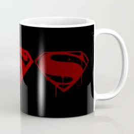 Three Supermen Coffee Mug