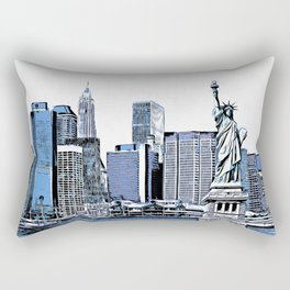 New York Rectangular Pillow