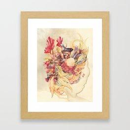 Wild Bouquet Framed Art Print
