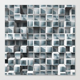 Cubes Within Cubes Canvas Print