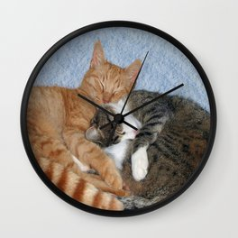 Sleeping Sweeties Wall Clock