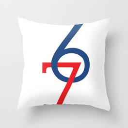 6FOOT 7FOOT Throw Pillow