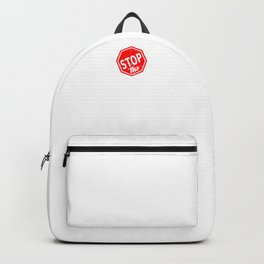 Stop The Haters Backpack