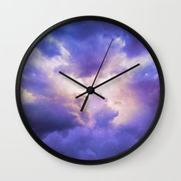 The Skies Are Painted III Wall Clock