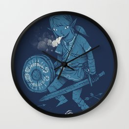 breath of the link Wall Clock