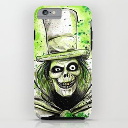 Hat Box Ghost iPhone Case