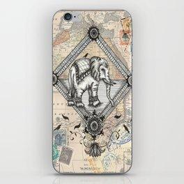 Vintage Elephant iPhone Skin