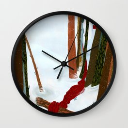 The Crane Wife Wall Clock