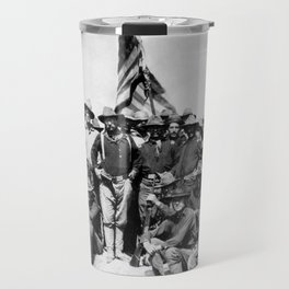 Teddy Roosevelt And The Rough Riders Travel Mug