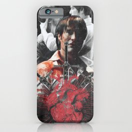 Hannibal Tarot - Three of Swords iPhone Case