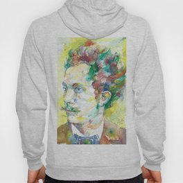 RICHARD STRAUSS - watercolor portrait.2 Hoody
