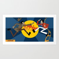 Lupin The 3rd Art Print