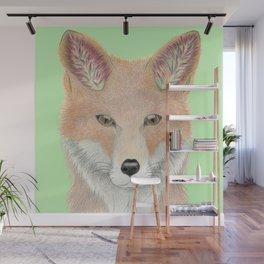 All Ears Fox Wall Mural