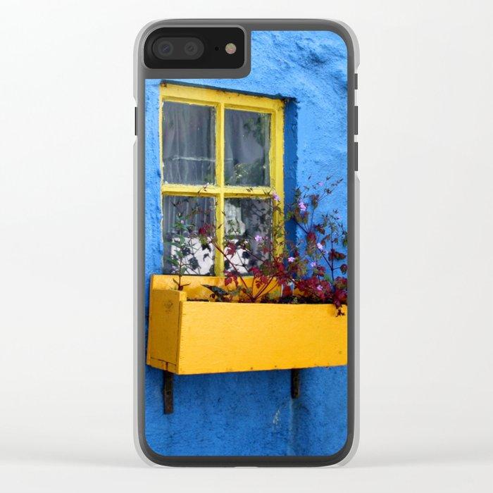 vibrant colours Clear iPhone Case