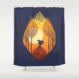 Autumn came Shower Curtain