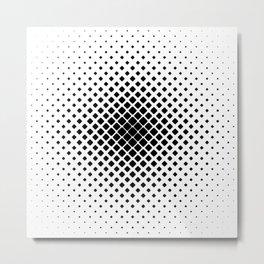 Symmetric Fade Metal Print
