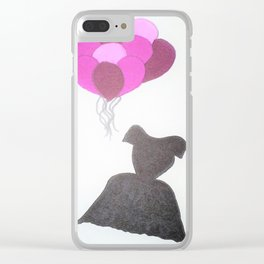 Ode to Audrey Clear iPhone Case