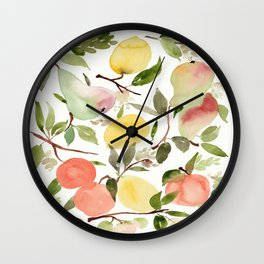 frutas  Wall Clock