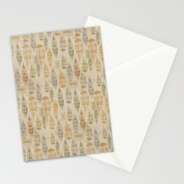 Vintage Feathers Tribal Stationery Cards