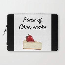 Piece of Cheesecake Laptop Sleeve