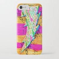 lightning iPhone & iPod Cases featuring Lightning by Hugo Diaz Romero