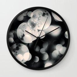 Many Moons Wall Clock