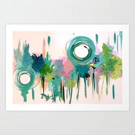 Monday in the Garden Art Print