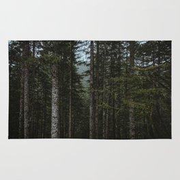 Oregon Trees Rug