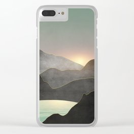 Minimal Landscape 03 Clear iPhone Case