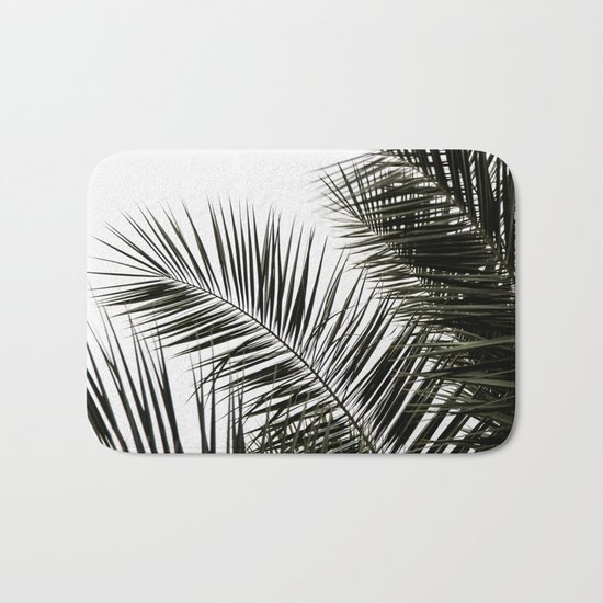 Palm Leaves 3 Bath Mat