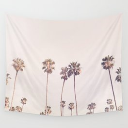 Sunny Cali Palm Trees Wall Tapestry