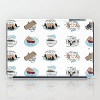 twin peaks iPad Cases featuring // twin peaks // by // PIGEON //