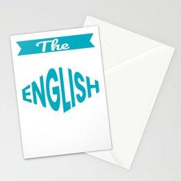 The Legendary English Teacher Retirement Gift Design Stationery Cards