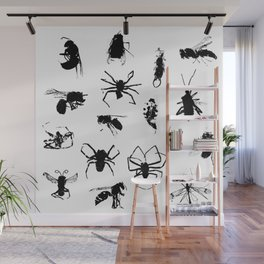 Bugs Wall Mural