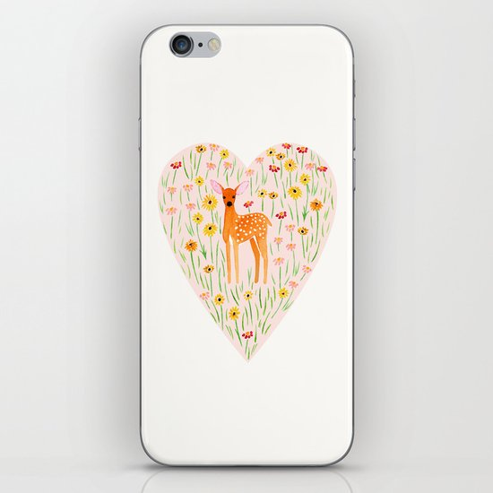 Fawn Valentine iPhone & iPod Skin