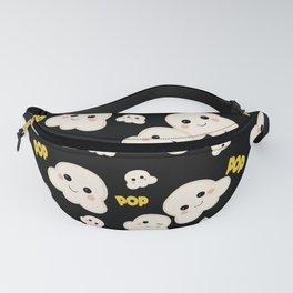 Cute Kawaii Popcorn pattern Fanny Pack