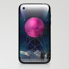 Intergalactic bridges iPhone & iPod Skin