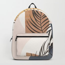 Minimal Abstract Shapes No.50 Backpack