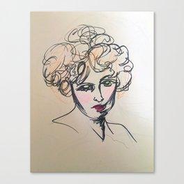 Duh. Canvas Print