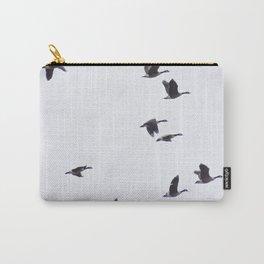 Birds -Scandinavian Minimalist Art Carry-All Pouch