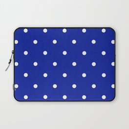 Dotty Blue Laptop Sleeve