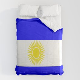 Flag of Argentina Comforters