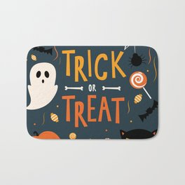 Trick or Treat Bath Mat